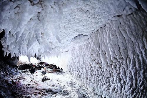 جاذبه های گردشگری قشم: غار نمک