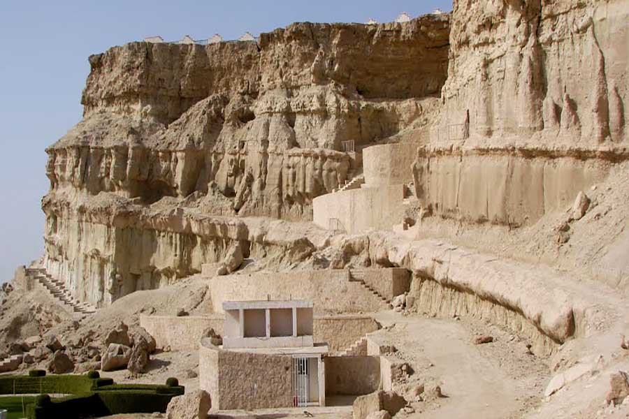 جاذبه های گردشگری قشم: غارهای خربس