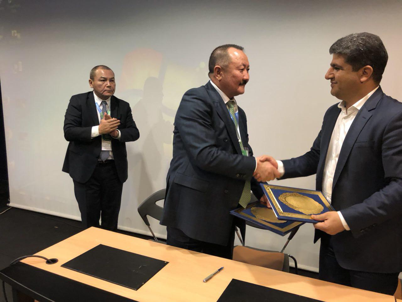 امضاء تفاهم نامه همکاری میان سازمان منطقه آزاد چابهار و منطقه آزاد بیشکک کشور قرقیزستان