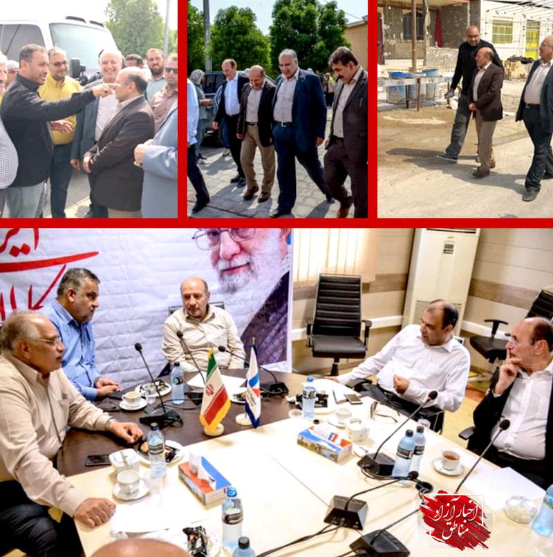 بازدید اعضای کمیسیون اجتماعی مجلس شورای اسلامی از منطقه آزاد اروند