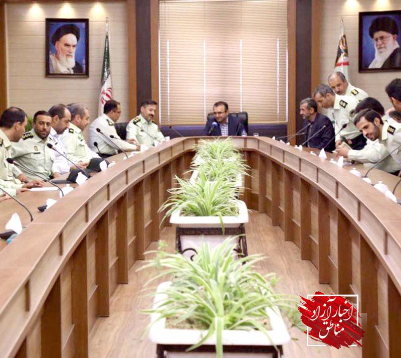 گرامیداشت هفته نیروی انتظامی در شهر فرودگاهی امام خمینی(ره)