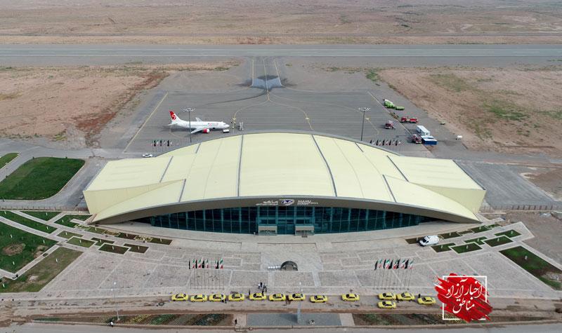 افتتاح رسمی فرودگاه بینالمللی ماکو همزمان با سفر دکتر روحانی به آذربایجان غربی