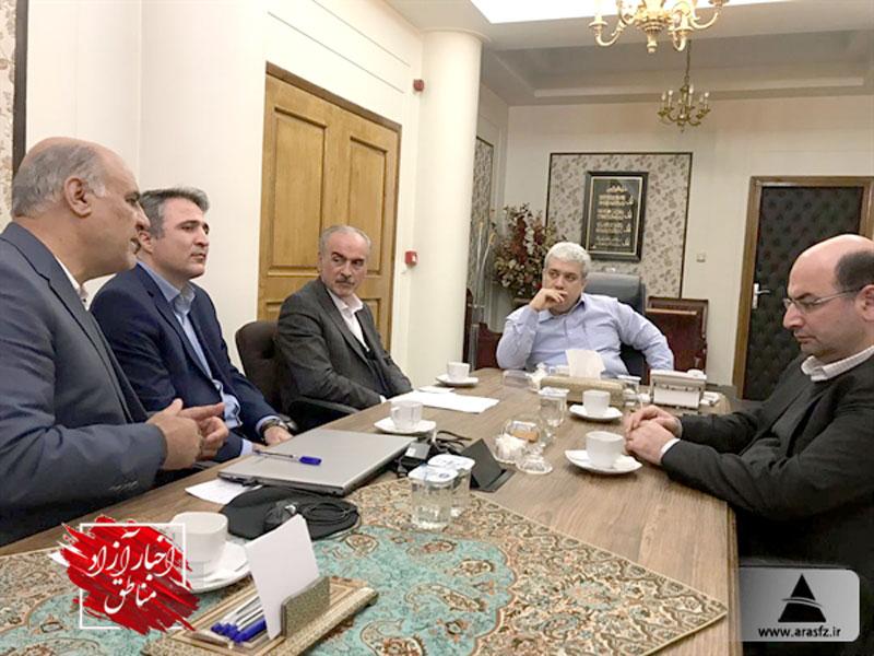 راهاندازی هاب تولید و صادرات محصولات دانشبنیان در منطقه آزاد ارس