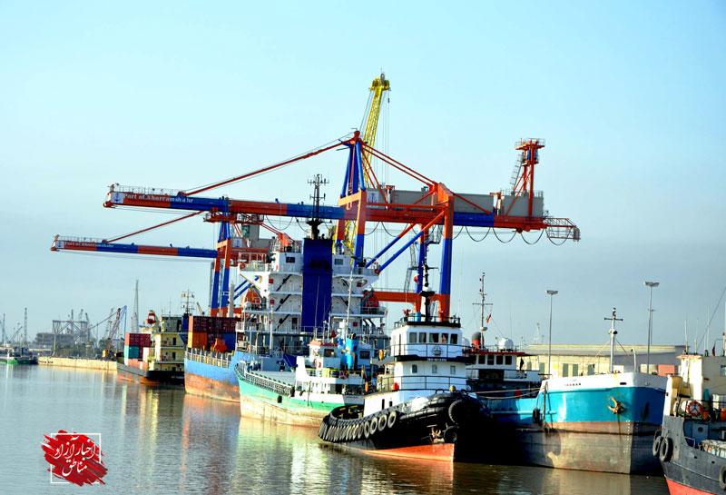 افزایش صادرات کالاهای غیرنفتی از بندر خرمشهر
