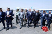 حضور محمدجواد ظریف وزیر امور خارجه ایران در منطقه آزاد چابهار