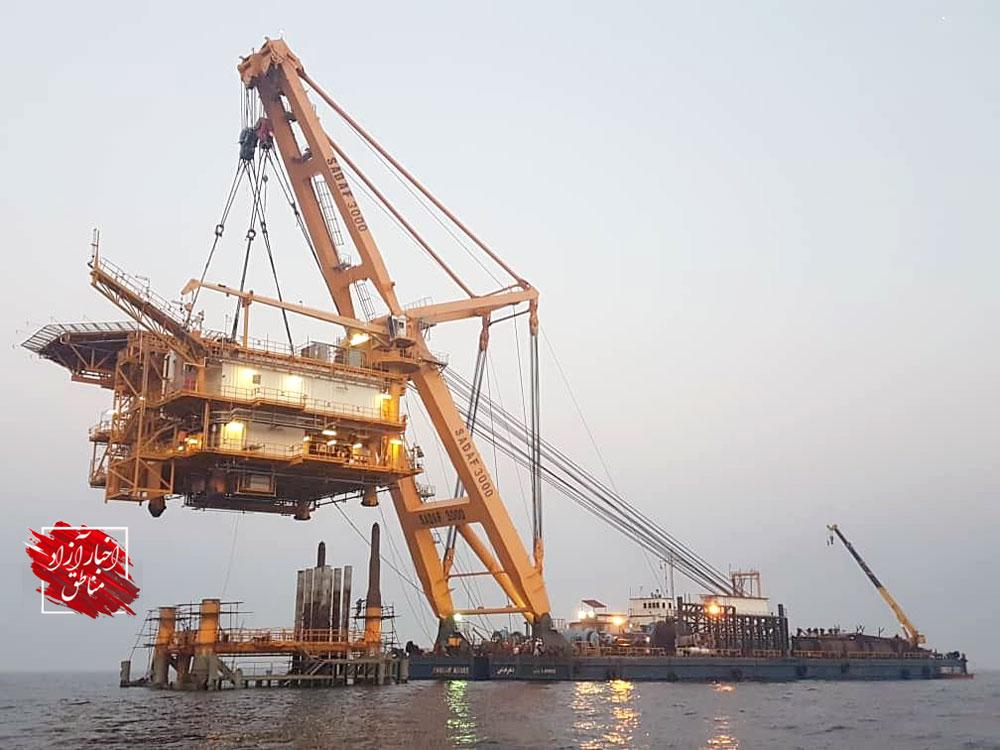 برداشت روزانه ۱۲ هزار بشکه نفت از میدان مشترک با عربستان