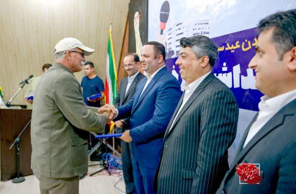 برگزاری آیین نکوداشت روز خبرنگار در منطقه آزاد انزلی