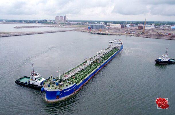 ورود ۴۰فروند کشتی تجاری به مجتمع بندری کاسپین در شش ماهه نخست سال۹۸