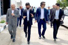 بازدید مدیرعامل سازمان منطقه آزاد قشم از بازداشتگاه هلر قشم