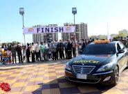 منطقه آزاد قشم میزبان برگزاری مسابقات اتومبیلرانی اسلالوم