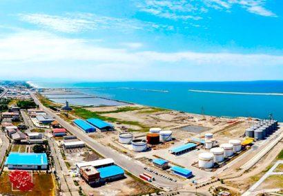 افزایش ۴۶درصدی صادرات از بنادر منطقه آزاد انزلی