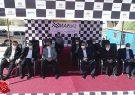 بازدید مدیرعامل سازمان منطقه آزاد قشم از مراحل آمادهسازی پیست اتومبیلرانی مسابقات اسلالوم قشم